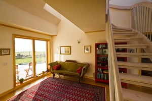 Solas - A Modern Bed & Breakfast ecohouse by the sea in the crofting community of Big Sand by Gairloch
